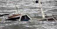 Batan teknede 43 kişi kurtarıldı