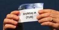 Beşiktaş'ın rakipleri yarın belirlenecek