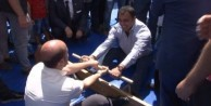 Bilal Erdoğan ve Hamza Yerlikaya böyle güreşti