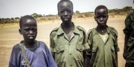 Binlerce çocuk askere özgürlük