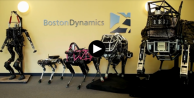 Boston Dynamics'in ilginç köpek robotu