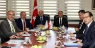 Bursa Valiliği'nde güvenlik toplantısı
