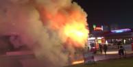 Bursa'da 6 yolcu otobüsü yandı