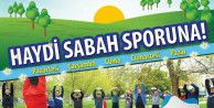 Küçükçekmeceliler güne sporla başlıyor