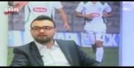 Canlı yayında kafasına dekor düştü/VİDEO