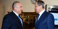 Çavuşoğlu Lavrov'la görüştü