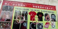 Çin, Doğu Türkistan'da Türk bayrağını yasakladı