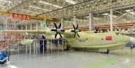 Çinliler dünyanın en büyük deniz uçağını üretti