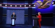 Clinton ve Donald Trump karşı karşıya geldi