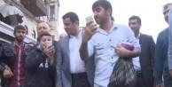 Çocuktan Demirtaş'a: Lan bi dur! (VİDEO)