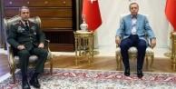 Cumhurbaşkanı Erdoğan, Akar ile görüştü