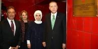 Erdoğan açılışını yaptı
