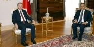Erdoğan Fidan ve Akar'ı ayrı ayrı kabul etti