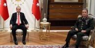 Erdoğan Hulusi Akar'ı kabul etti