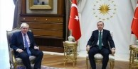 Cumhurbaşkanı Erdoğan Johnson'ı kabul etti