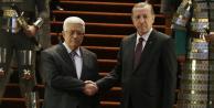 Cumhurbaşkanı Erdoğan Mahmud Abbas'la görüştü