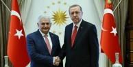 Erdoğan ve Yıldırım beraber gitti