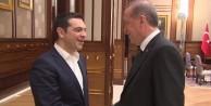 Cumhurbaşkanı Erdoğan ve Çipras arasında 'kırmızı hat'