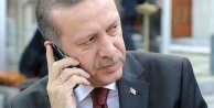 Erdoğan'dan sürpriz telefon
