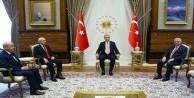 Cumhurbaşkanı Erdoğan'dan liderlere teşekkür mesajı