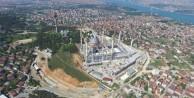 Çamlıca Camisi'nin inşaatında sona gelindi