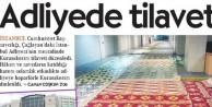 Gülen'in tetikçisi gazetenin Cuma namazı hazımsızlığı!