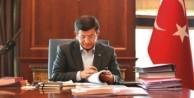 Davutoğlu Tuğrul Türkeş'i kabul etti