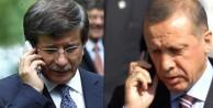 Davutoğlu'ndan Erdoğan'a flaş telefon!