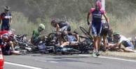 Dev yarışta korkunç kaza!