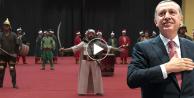 'Diriliş' marşını Erdoğan'a uyarladılar /VİDEO