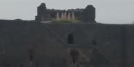 'Diyarbakır surlarına indi' iddialarının sırrı ortaya çıktı!