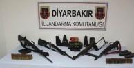 Diyarbakır'da 6 ayda cephanelik yakalandı