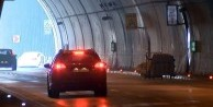 Dolmabahçe Tüneli'nde tehlikeli oyunu