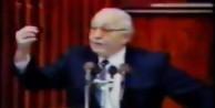 Erbakan, İsrail'in uzun vadeli planlarını anlatıyor!