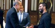 Erdoğan'dan Arda'ya: Beni çok mutlu ettin