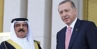 Erdoğan Bahreyn Kralı Halife'yi törenle karşıladı