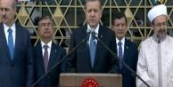 Erdoğan, Beştepe'deki caminin adını açıkladı