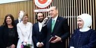 Erdoğan Brüksel'de nikah şahidi oldu