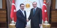 Erdoğan Çipras'ın isteğini kabul etti