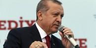 Erdoğan: Her yeriniz silah olsa ne yazar