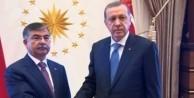 Erdoğan, İsmet Yılmaz ile görüştü
