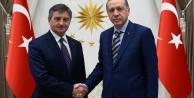 Erdoğan Kuchcinski'yi kabul etti