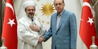 Erdoğan, Mehmet Görmez'i kabul etti