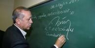Erdoğan'dan bir imza da Siirt'te