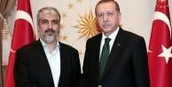 Erdoğan ve Halid Meşal'den sürpriz görüşme!