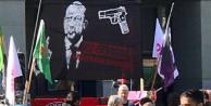 Erdoğan'ı hedef gösteren pankarta soruşturma