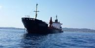Ereğli açıklarında kargo gemisi yan yattı