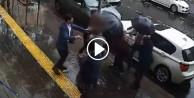 Erkekten dayak yiyen adam kadına saldırdı