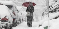 O ilimize lapa lapa kar yağdı