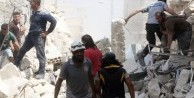 Esed rejimi taziye çadırını vurdu:20 ölü